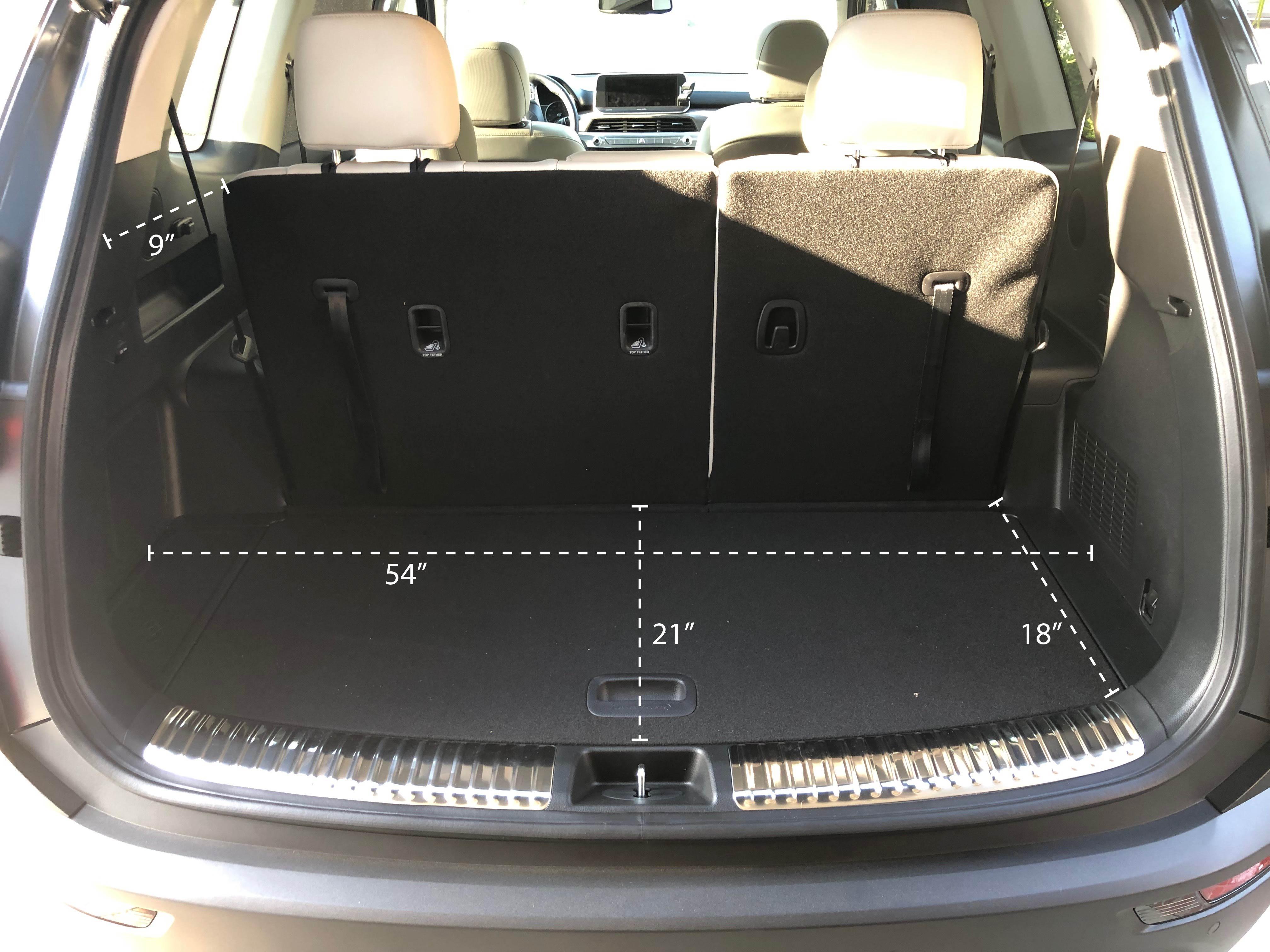 Cargo area measurements?  Kia Telluride Forum