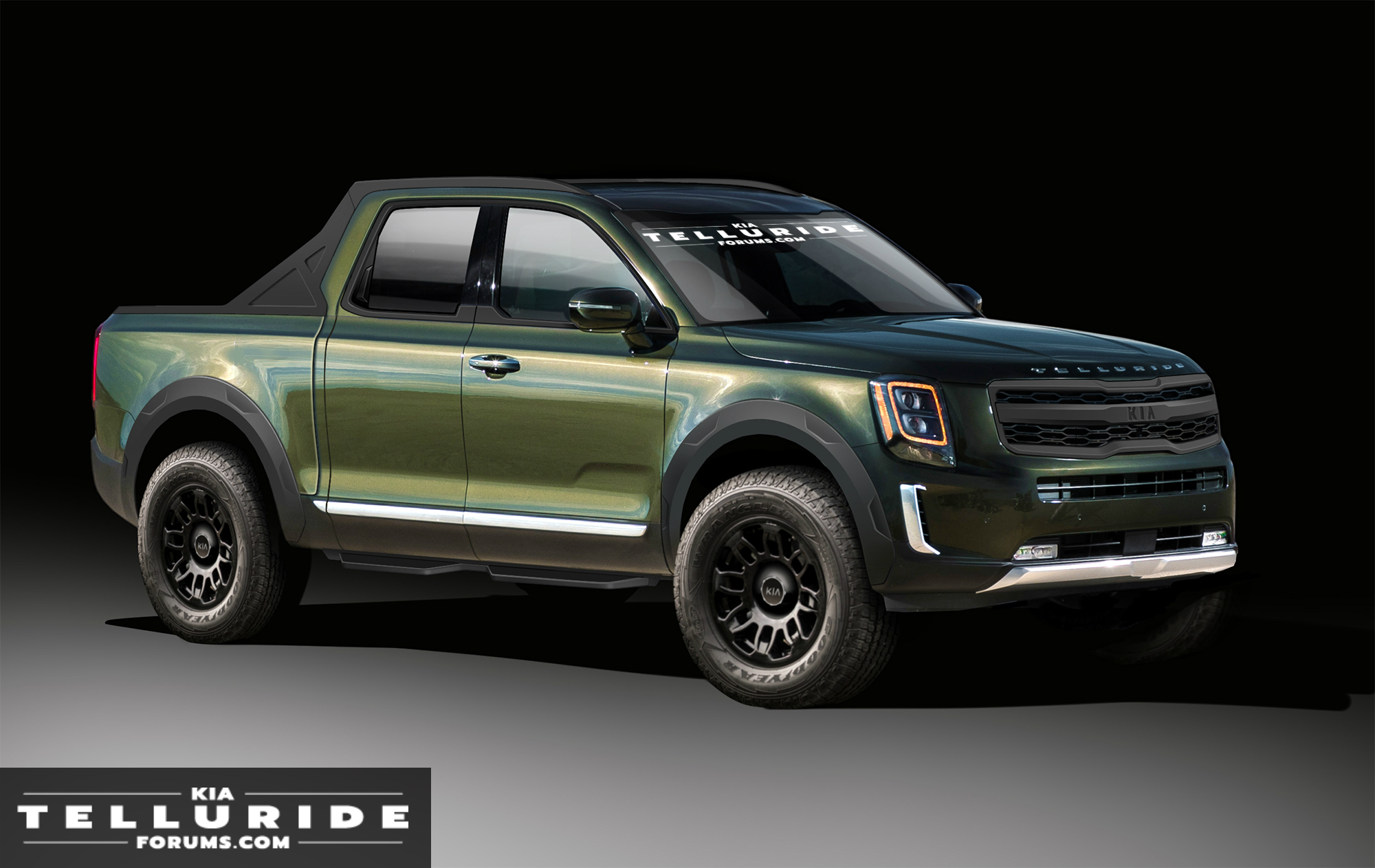 Kia Pickup Truck Previewed Kia Telluride Forum
